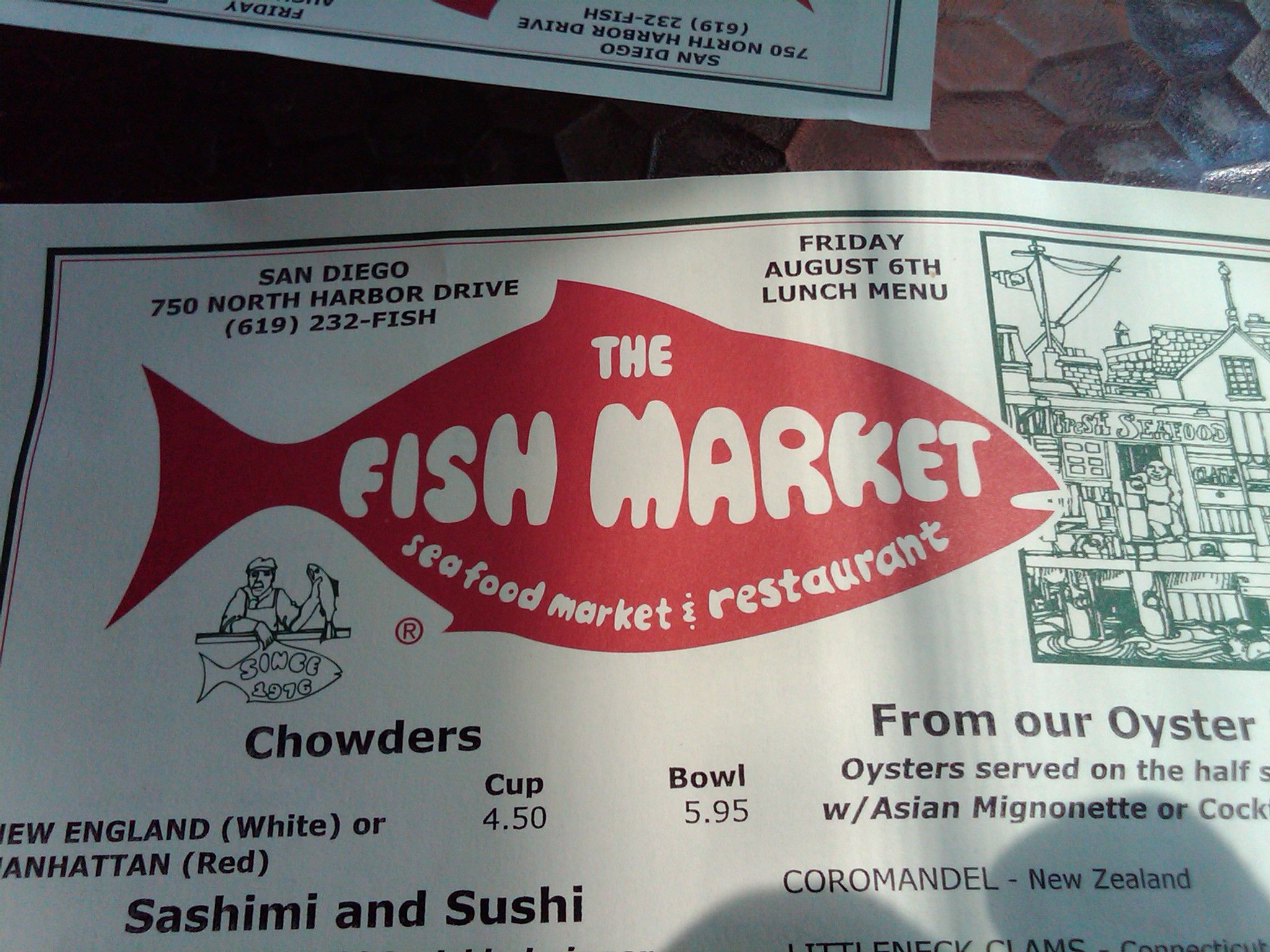 The Fish Market Near Downtown San Diego The Fish Market San Diego Food