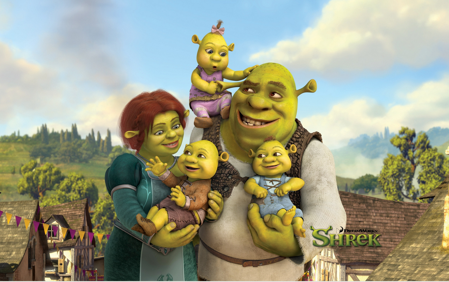 Http 7 Themes Com 6868643 Shrek Wallpaper Html Shrek Animated Movies Disney
