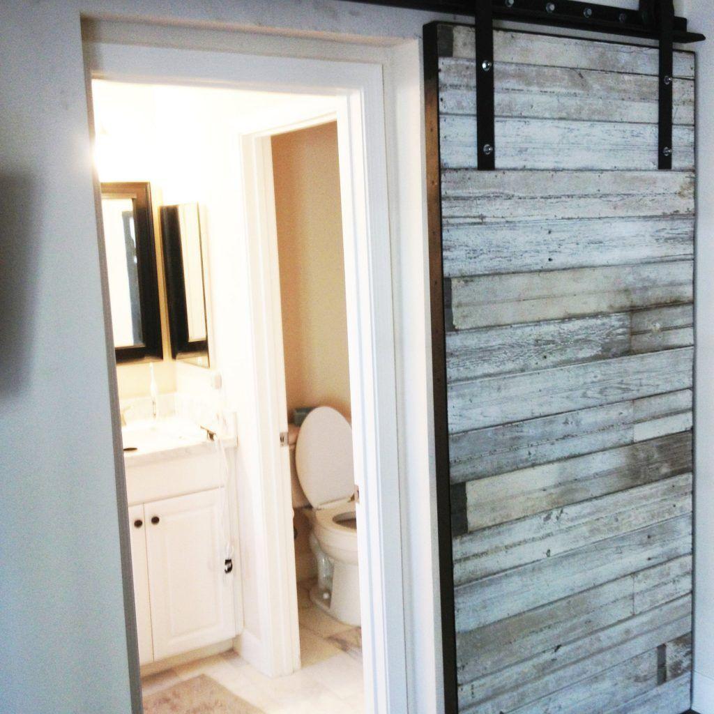 Barn Doors For Small Bathrooms  Httpbukuweb  Pinterest Amusing Small Bathroom Door Review