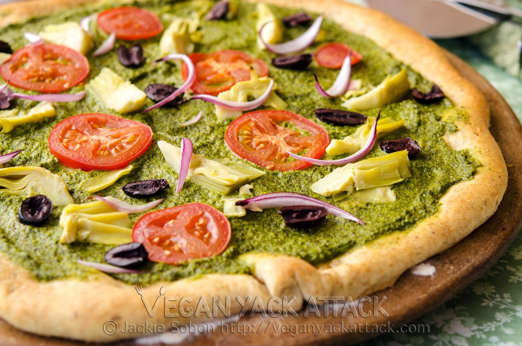 recipe: talian pesto pizza [21]