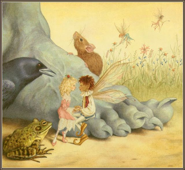 çizgili masallar: Lauren Mills and Dennis Nolan, Fairy Wings