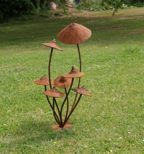 12 rustic metal projects for your backyard page 13 of 13 metal art pinterest garten - Gartenskulpturen metall ...