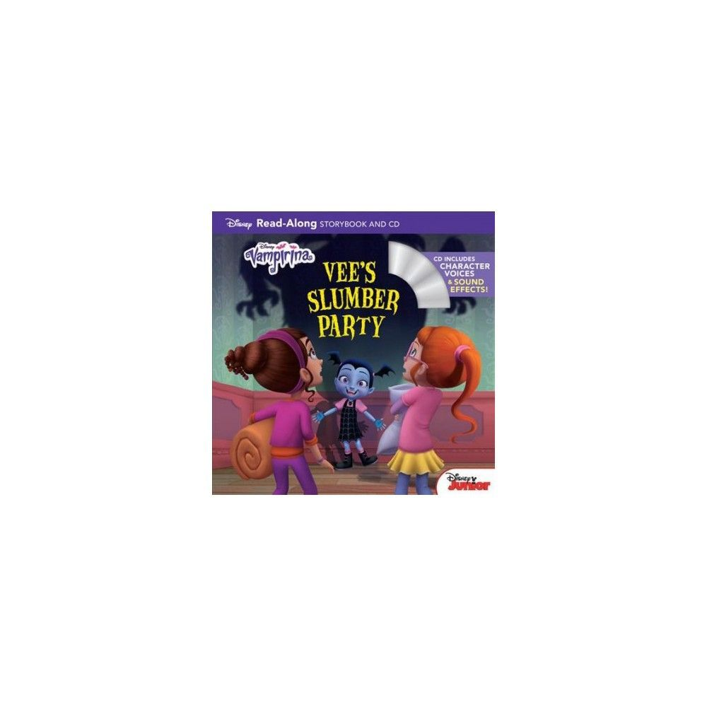 Vampirina Vee\'s Slumber Party : Read-along Storybook and CD ...