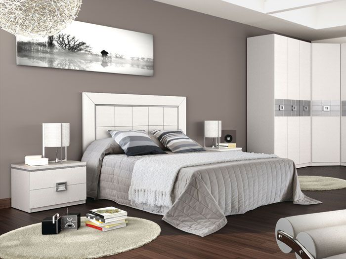 Beautiful bedroom grey design the most beautiful bedrooms - Dormitorios matrimoniales modernos ...