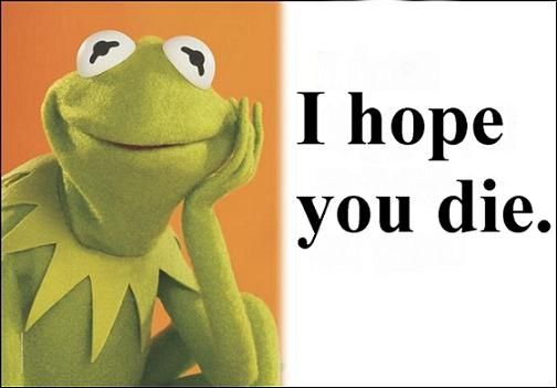 Funny Frog Cartoon Meme : Kermit the frog funny quotes dopepicz kermit & i have esp