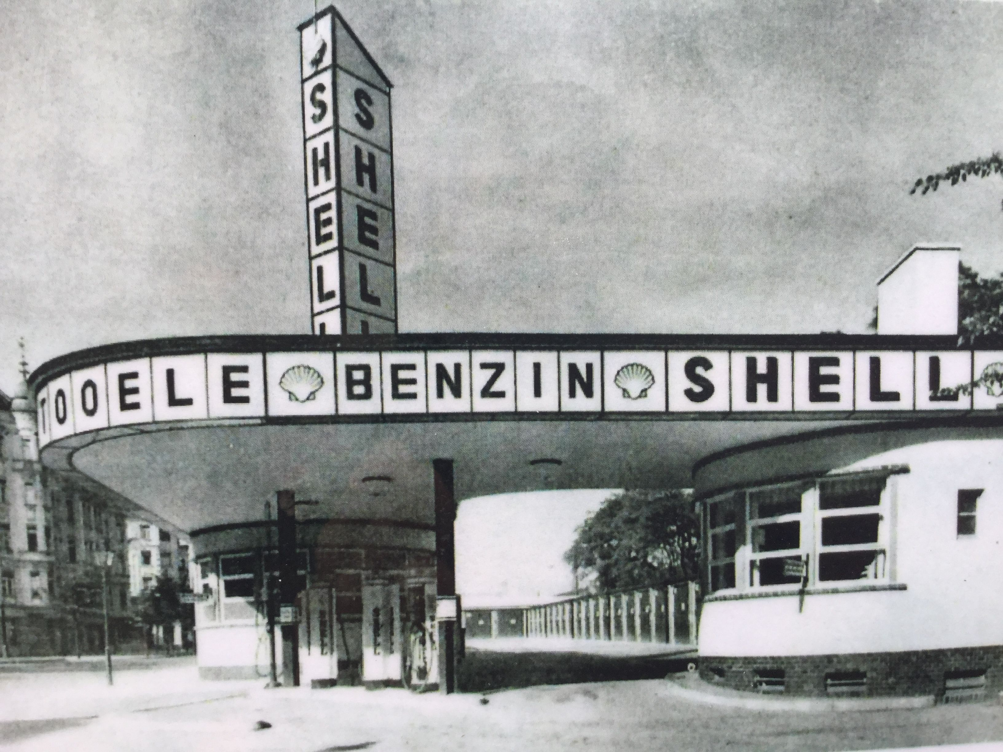 holtzendorff garage historisch berlin tankstellen und. Black Bedroom Furniture Sets. Home Design Ideas