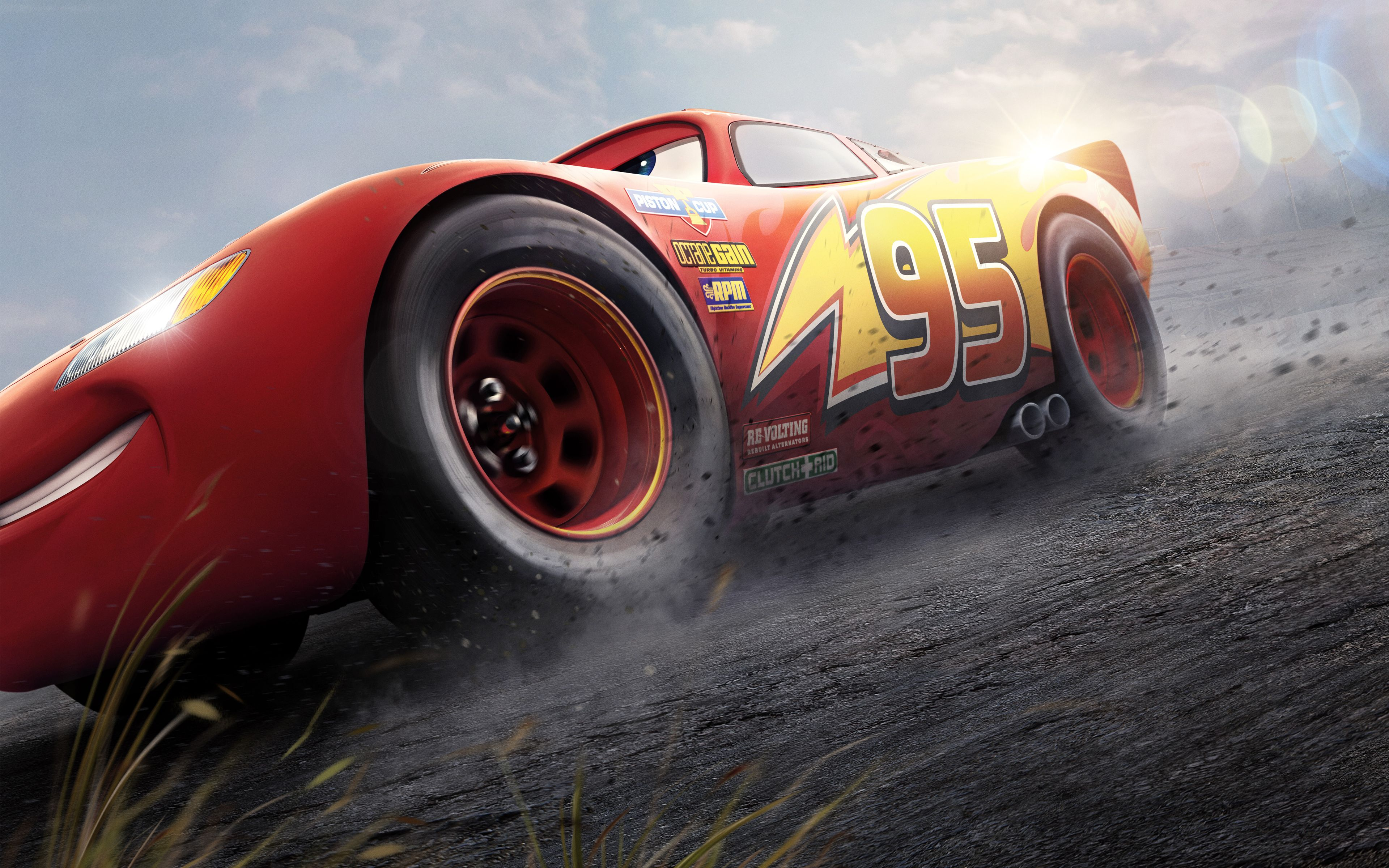 Lightning mcqueen cars 3 4k 8k movies mcqueen cars 3 - Cars 3 wallpaper ...
