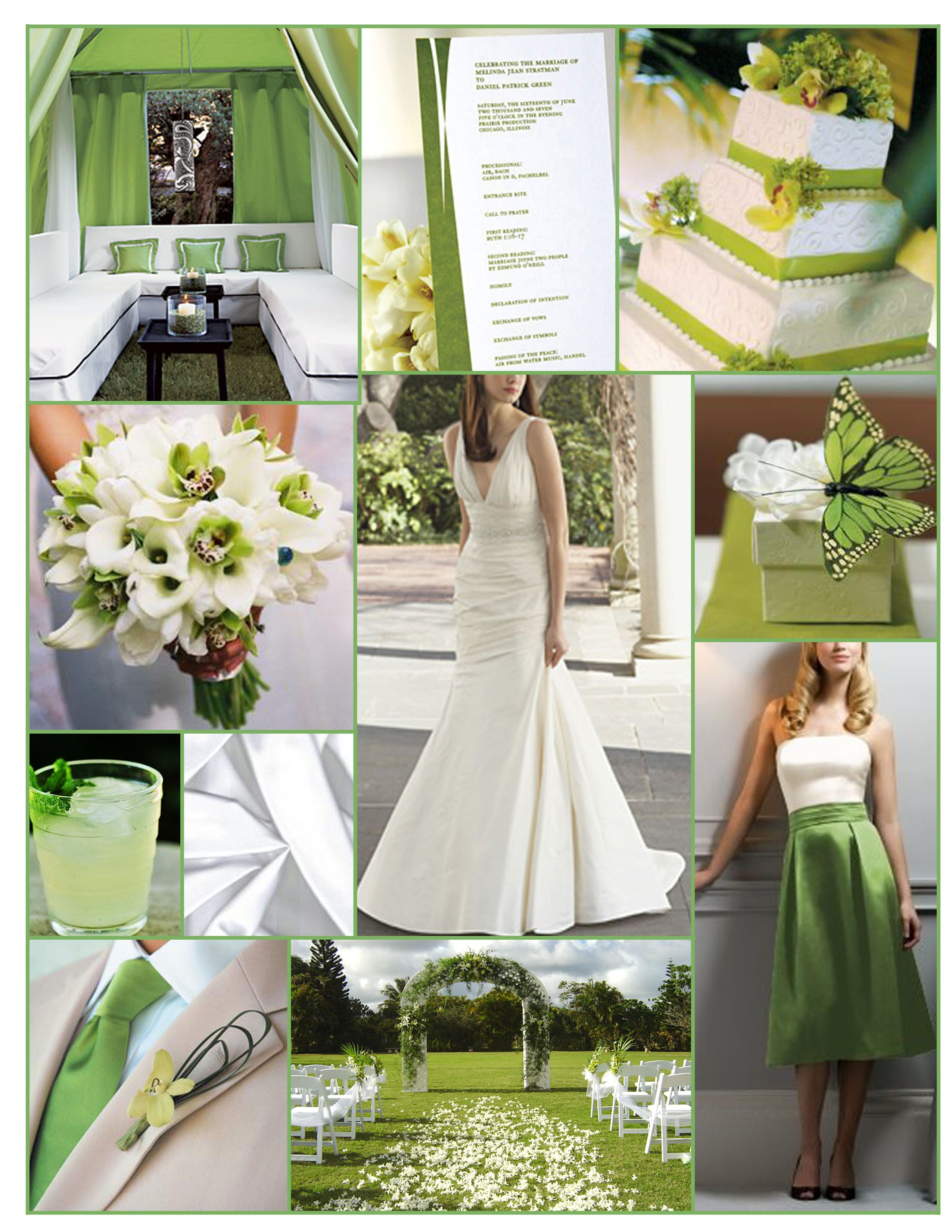 green and white wedding inspiration i actually really like the rh pinterest com