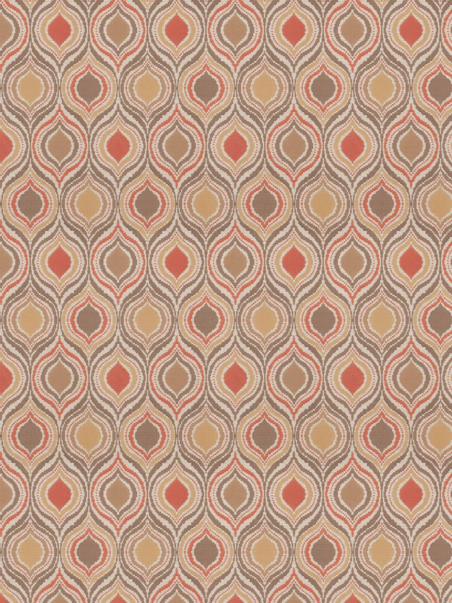 Gem Upholstery Pattern In Color Coral From Fabricut S Color Studio Volume Vi Collection Coral Colortrend Upholstery Ogee Flamestitch