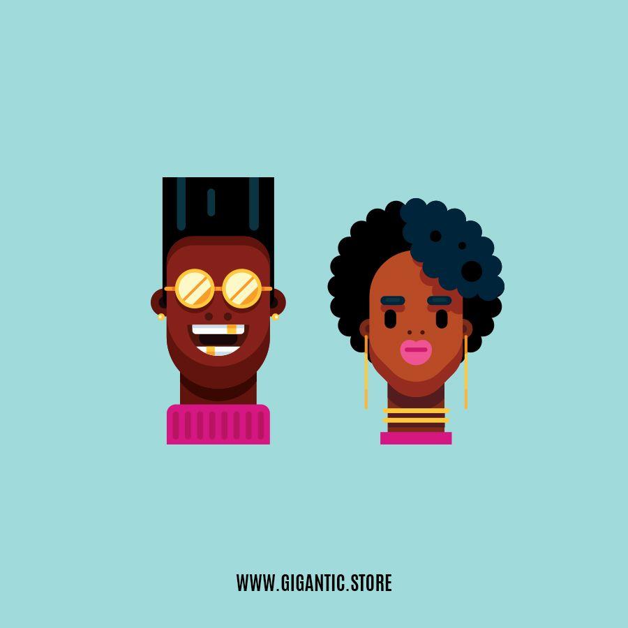 Gigantic Store Illustration Art Design Adobe Illustrator Graphic Design Character Design Animation