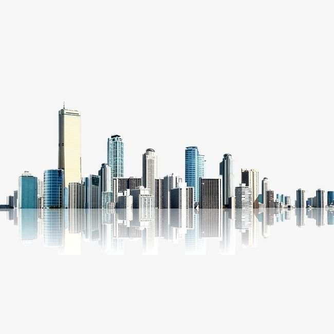 City High Rise Building Material Realism Png And Psd Simple Background Design Tree Photoshop Photobook Design
