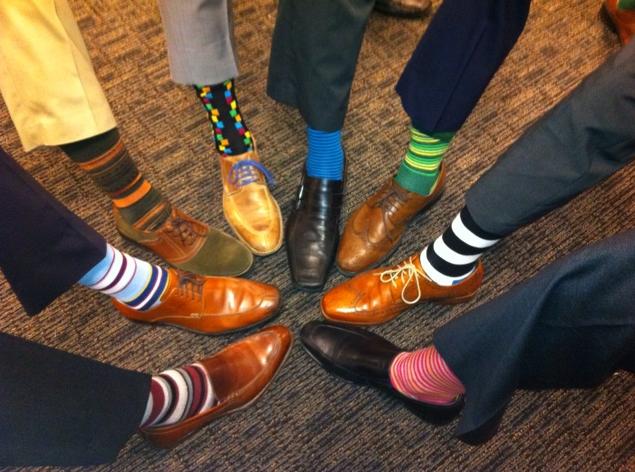Socks style!