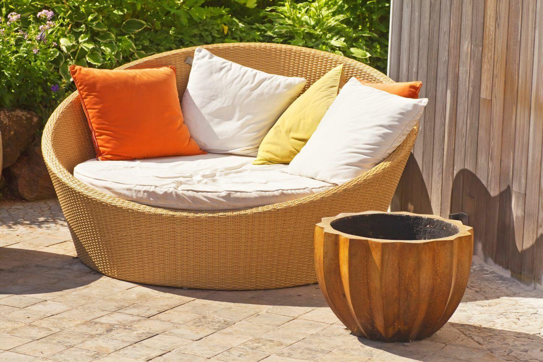 6 eye opening diy ideas painted wicker cushions wicker design rh pinterest com