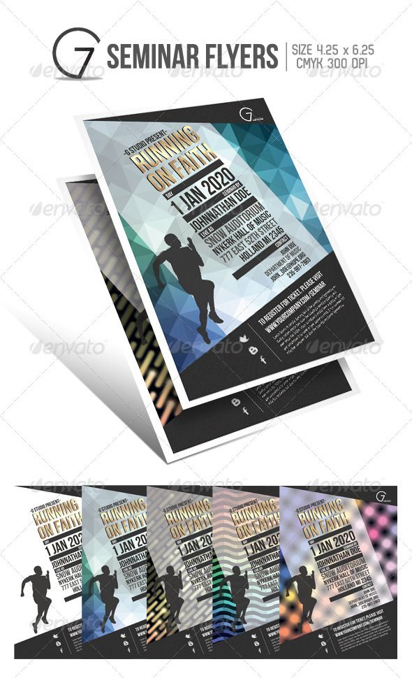 gstudio seminar flyers template change background flyer template