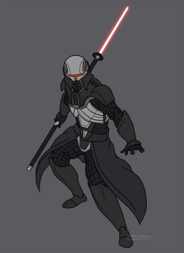 Assassin Of Mundus By Aceliousarts On Deviantart Star Wars Artwork Star Wars Light Saber Sith Armor