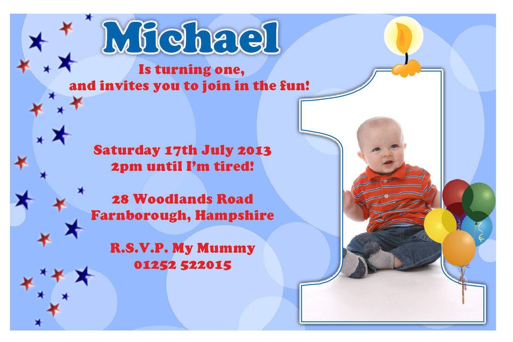 Birthday Card Invitations Templates Dengan Gambar