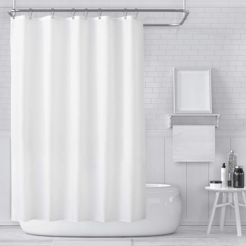 Carttiya Duschvorhange Textil Bad Vorhang Aus Polyester Anti Schimmel Wasserdichter Waschbar Stoff Badezimmer V In 2020 Bad Vorhang Duschvorhang Badezimmer Vorhang