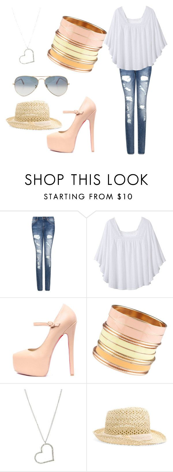 """""""Untitled #1"""" by immarriedtogeorgeweasley ❤ liked on Polyvore featuring MANGO, prAna, ALDO, Wet Seal and Ray-Ban"""