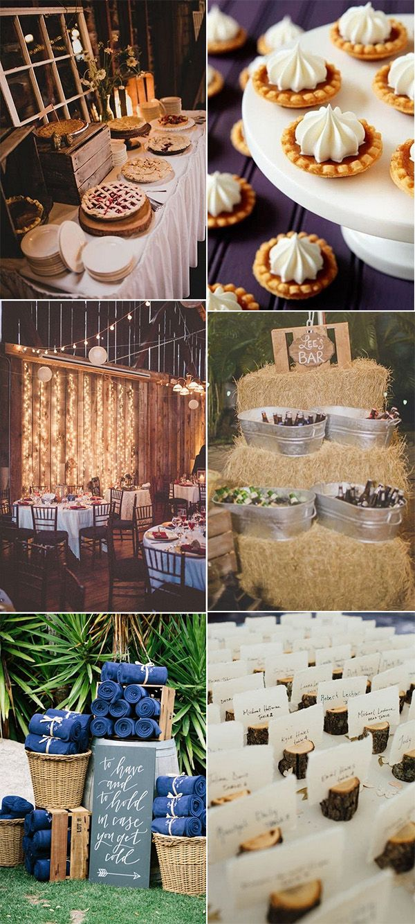 Fall wedding decor 2018   Fall Wedding ideas Youull Fall in Love with  Page  of