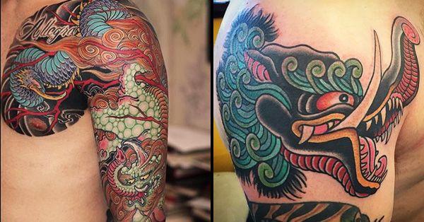 16 Brazen Japanese Baku Tattoos Tattoos Traditional Japanese