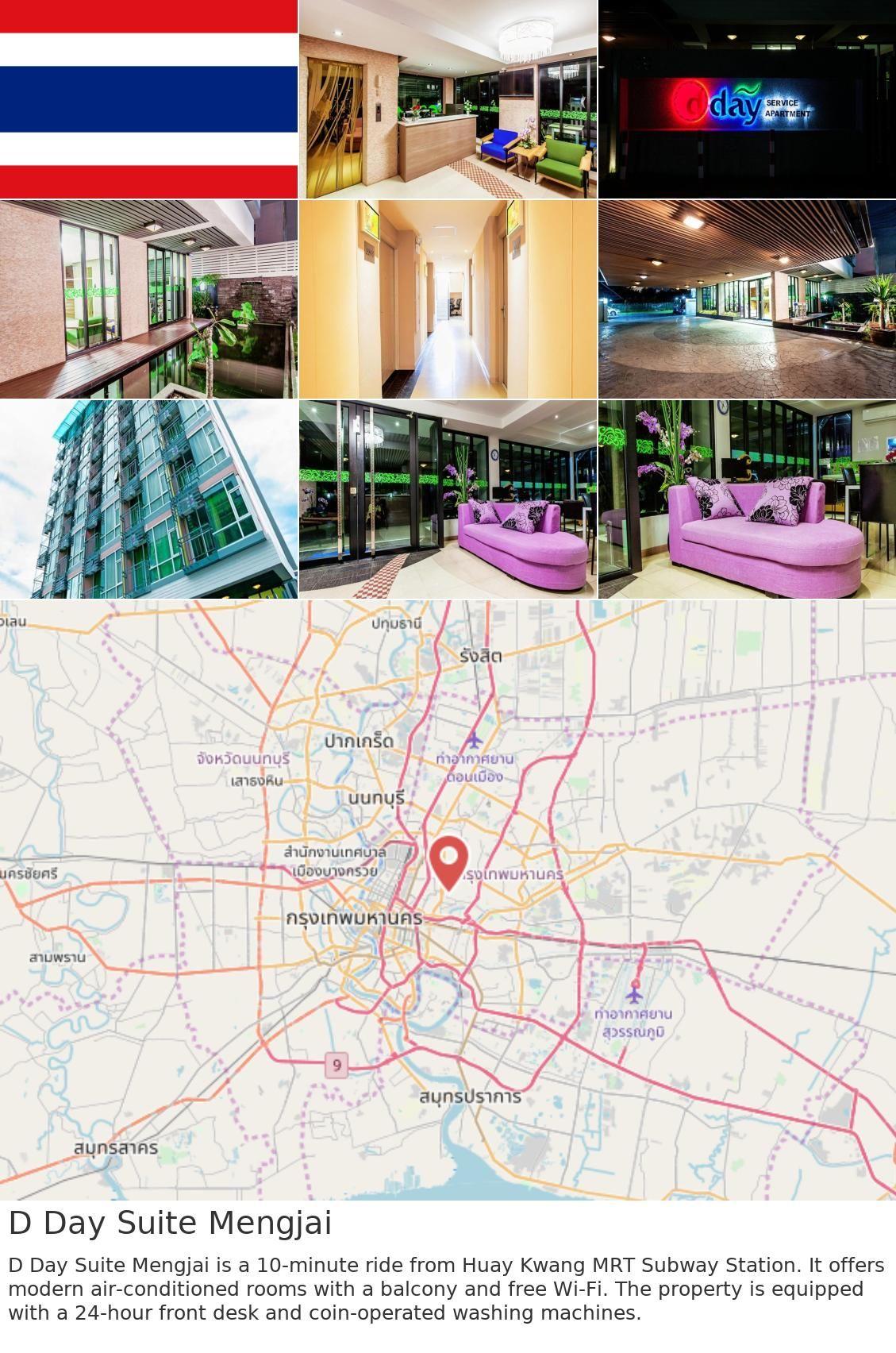 Asia Thailand Bangkok D Day Suite Mengjai Is
