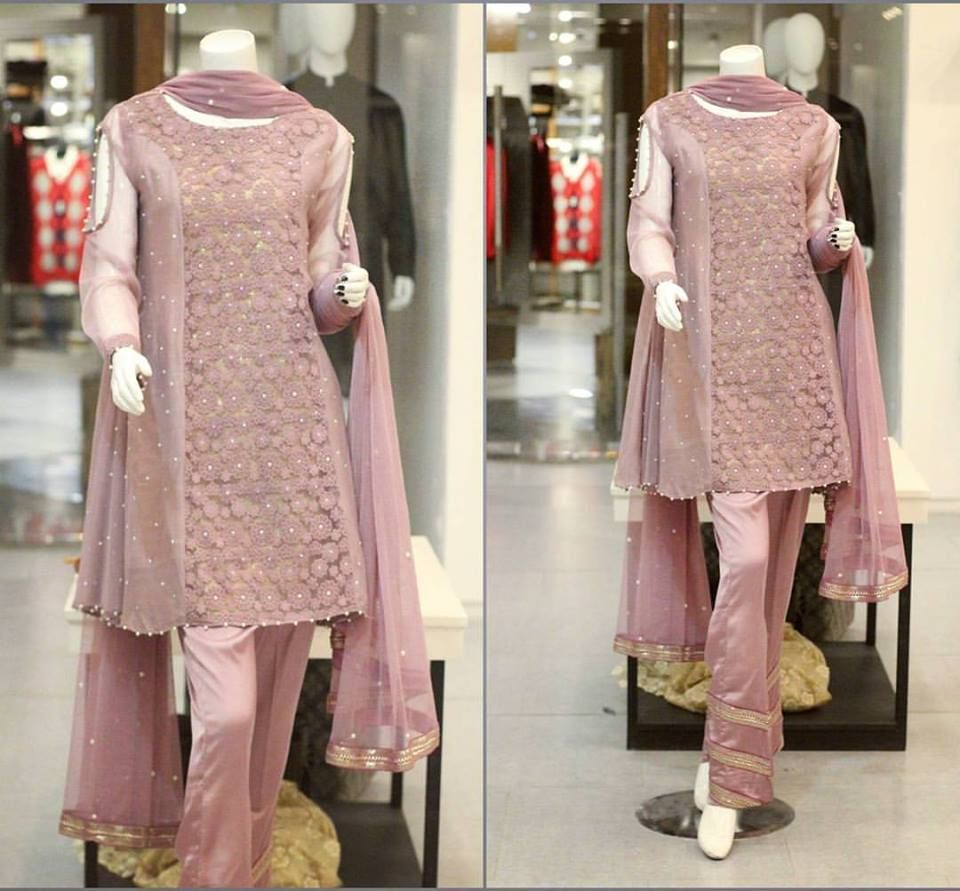 Zahra Ahmad New Party Wear Winter Dresses For Girls 2017-2018 ...
