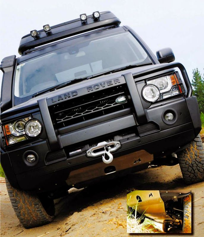 Underbody Protection For This Discovery 4 Extreme Is