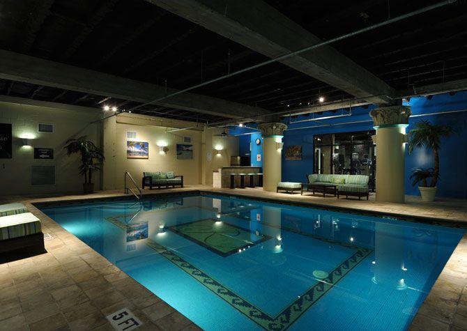 Rice Urban Lofts Houston Tx Pool Hot Tub Urban Loft Swimming