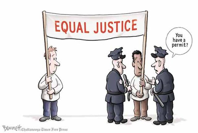 Image result for editorial nun rally cartoon