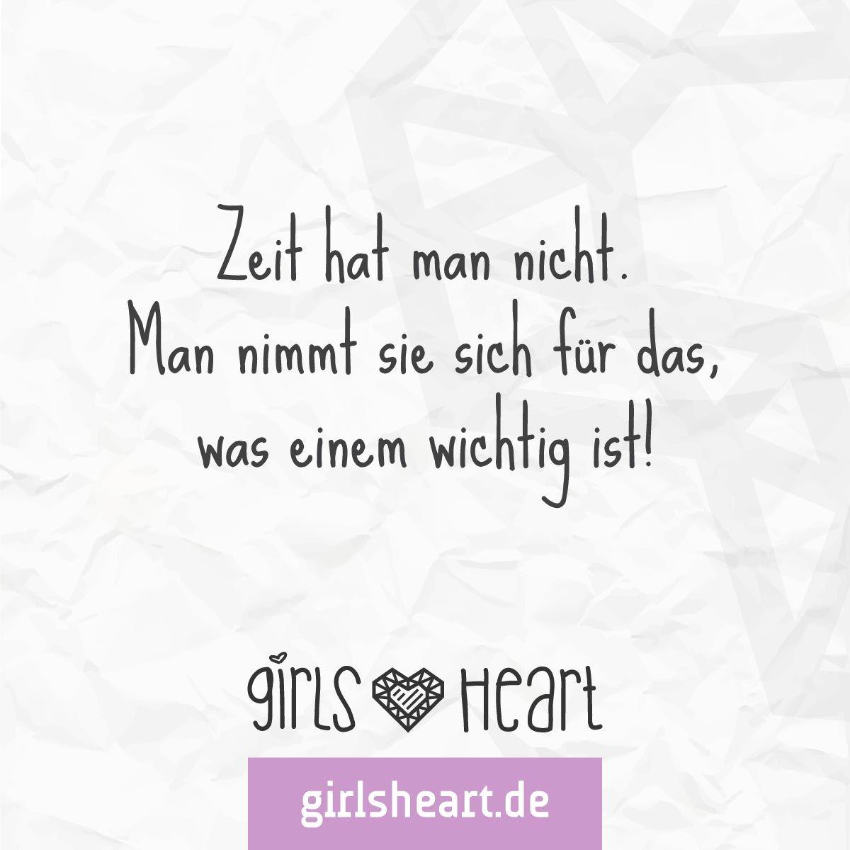 zeit nehmen sprüche Mehr Sprüche auf: .girlsheart.de #zeit #wichtig #zeitnehmen  zeit nehmen sprüche