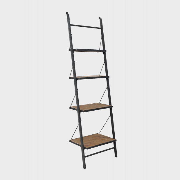 Tanzania Leaning Shelves Meyerandmarsh Bookshelves Industrial Reclaimed