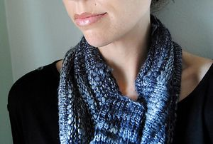 O R E - Cowl design by Lisa Mutch -  Combining the simplest of stitches with the finest of fibers to create a small piece of luxury, draped around your neck. http://www.ravelry.com/patterns/library/ore-2