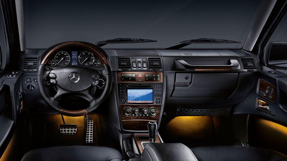 mercedes benz g class interior - G Wagon Interior
