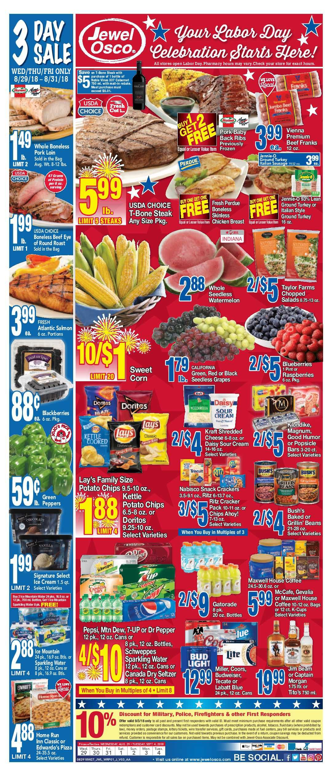 Jewel Osco Weekly Ad Flyer 5 19 21 5 25 21 Weeklyad123 Com Weekly Ads Grocery Savings Flyer