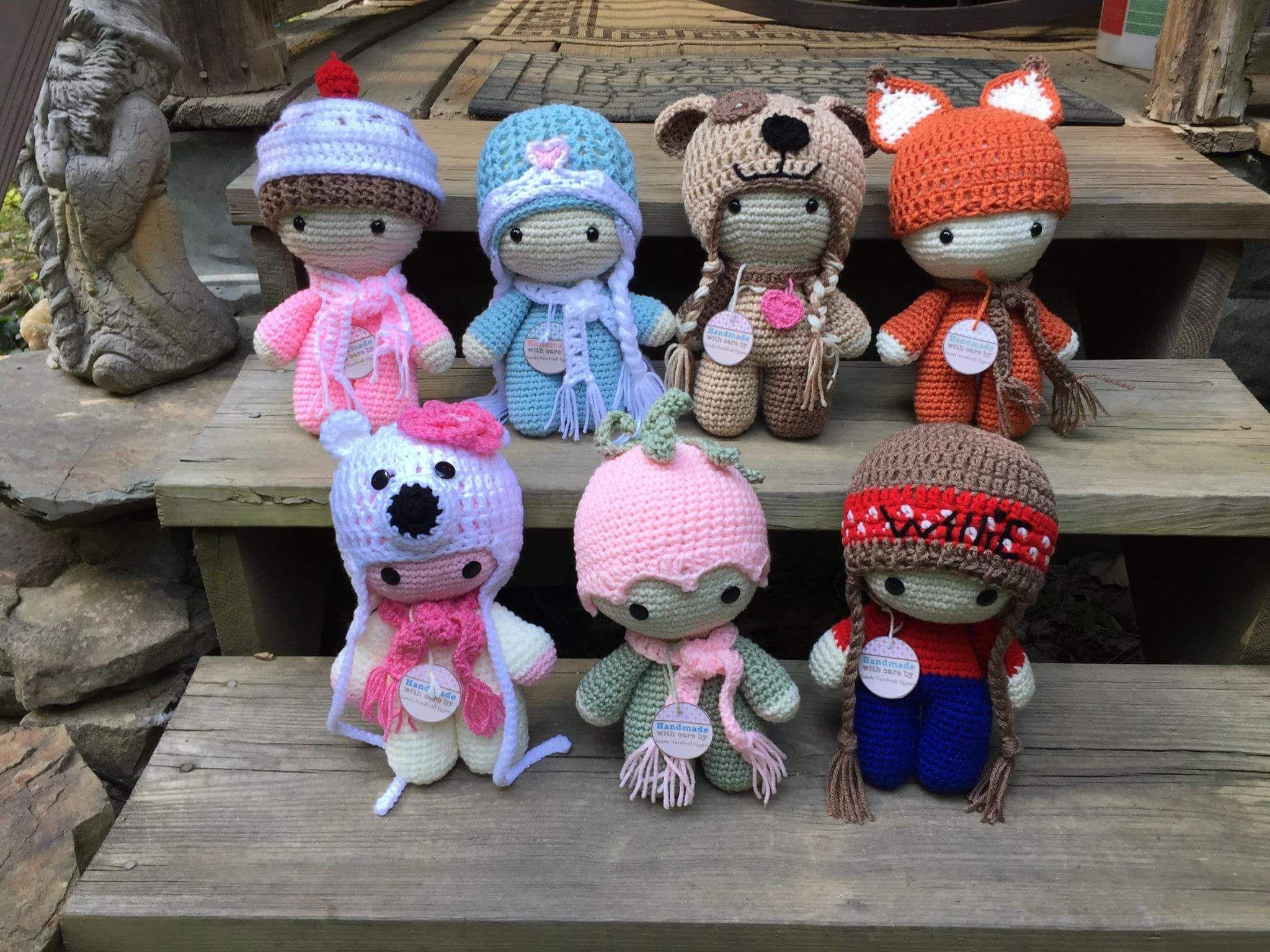 Sui gruppi americani di crochet tutti vanno matti per questa bambola ...