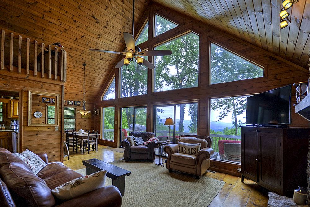 This Ellijay Cabin Rental Has Some Of The Most Spectacular