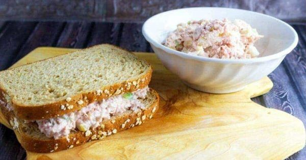 Hawaiian Ham Salad is a great way to use up leftover ham. Adding sweet pineapple to ham salad gives this salad a whole new taste. Facebook Facebook is a necessary evil in blogging. I admit right now I am ticked off at that social media outlet right now. Truthfully, I think... #ham #sandwich
