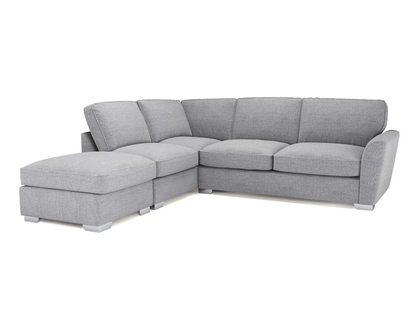 Fantasia Corner Sofa with Footstool Corner sofa, Tv room