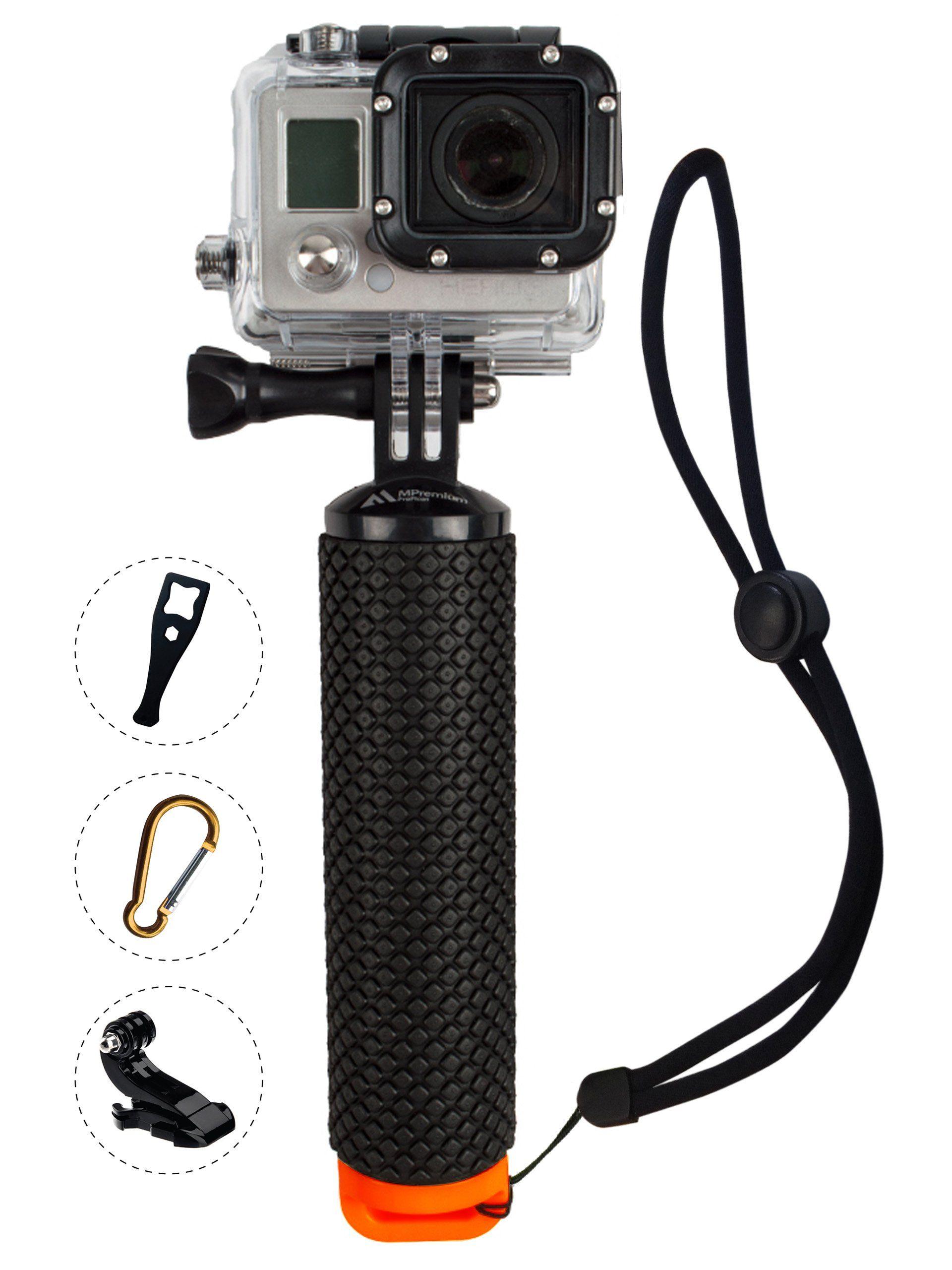 Waterproof Floating Selfie Stick Monopod Pole Hand Grip For GoPro 5 4 3 2 Camera