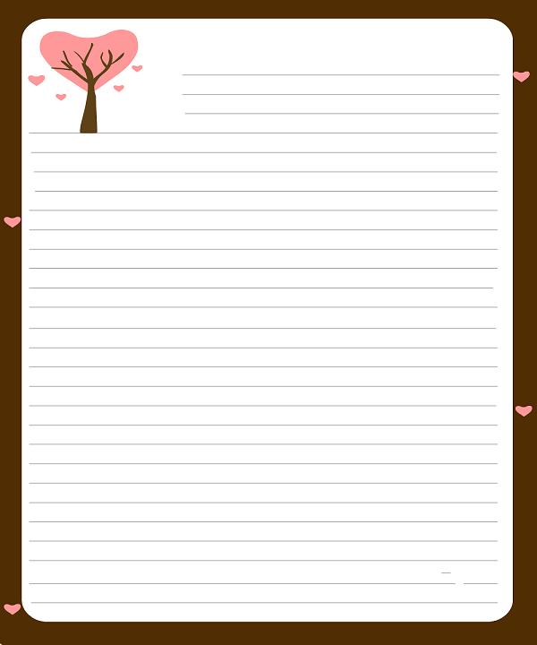 Doc564789 Love Letter Template Word Love Letter Template Word – Love Letter Template Word