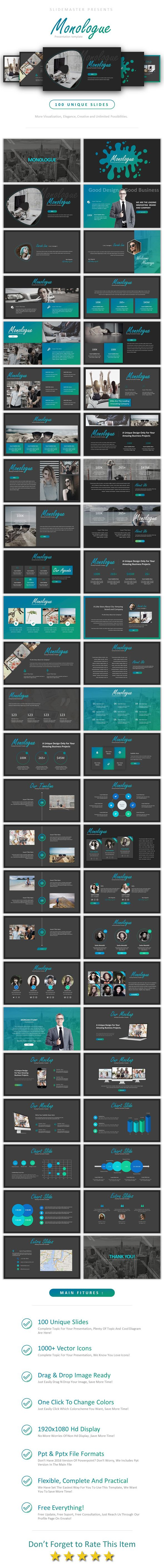 Monologue powerpoint business powerpoint templates best monologue powerpoint business powerpoint templates best powerpoint template pinterest business powerpoint templates template and presentation wajeb Images