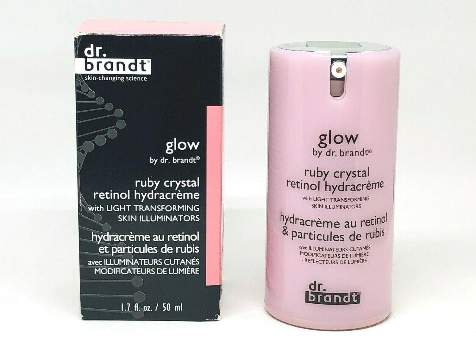 DR BRANDT Glow Ruby Crystal Retinol Hydracrème 1.7oz/ 50ml
