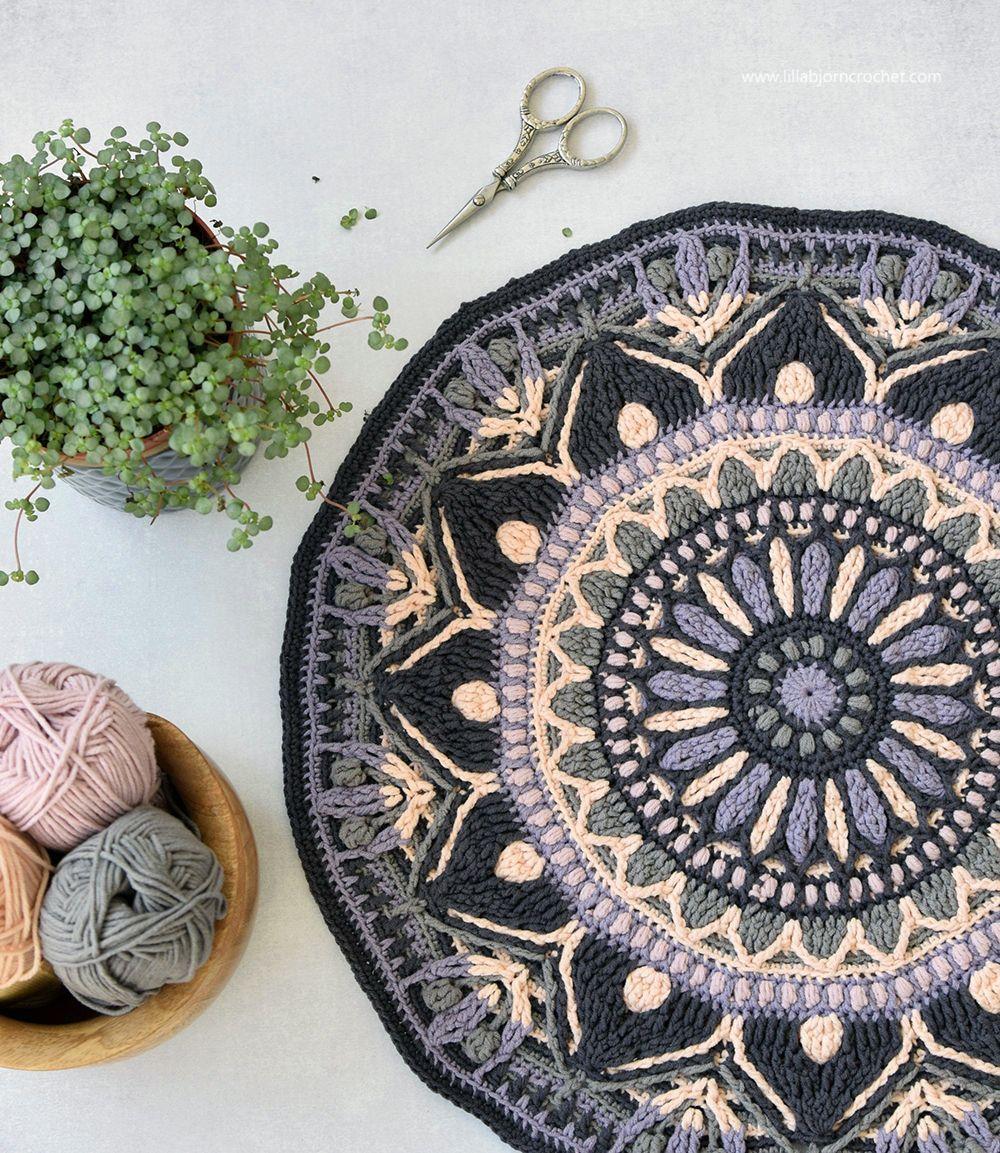 Mira Mandala, and Something about my life #crochetmandalapattern