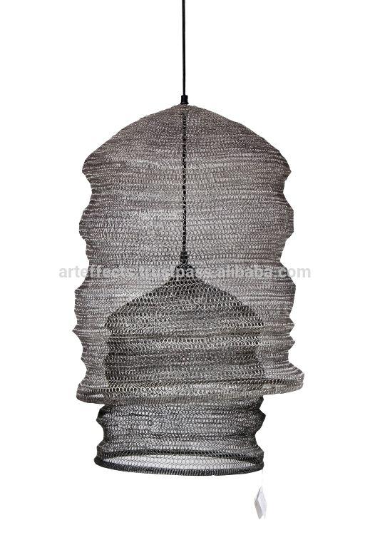 Metal Wire Mesh Pendant Lamp Shade - Buy Pendant Light,Metal ...