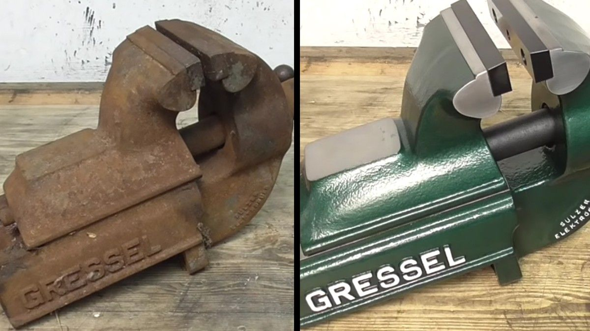 Watching This Youtuber Restore Antiques Is Incredibly Satisfying Vice My Mechanic Restoration Recycling Station