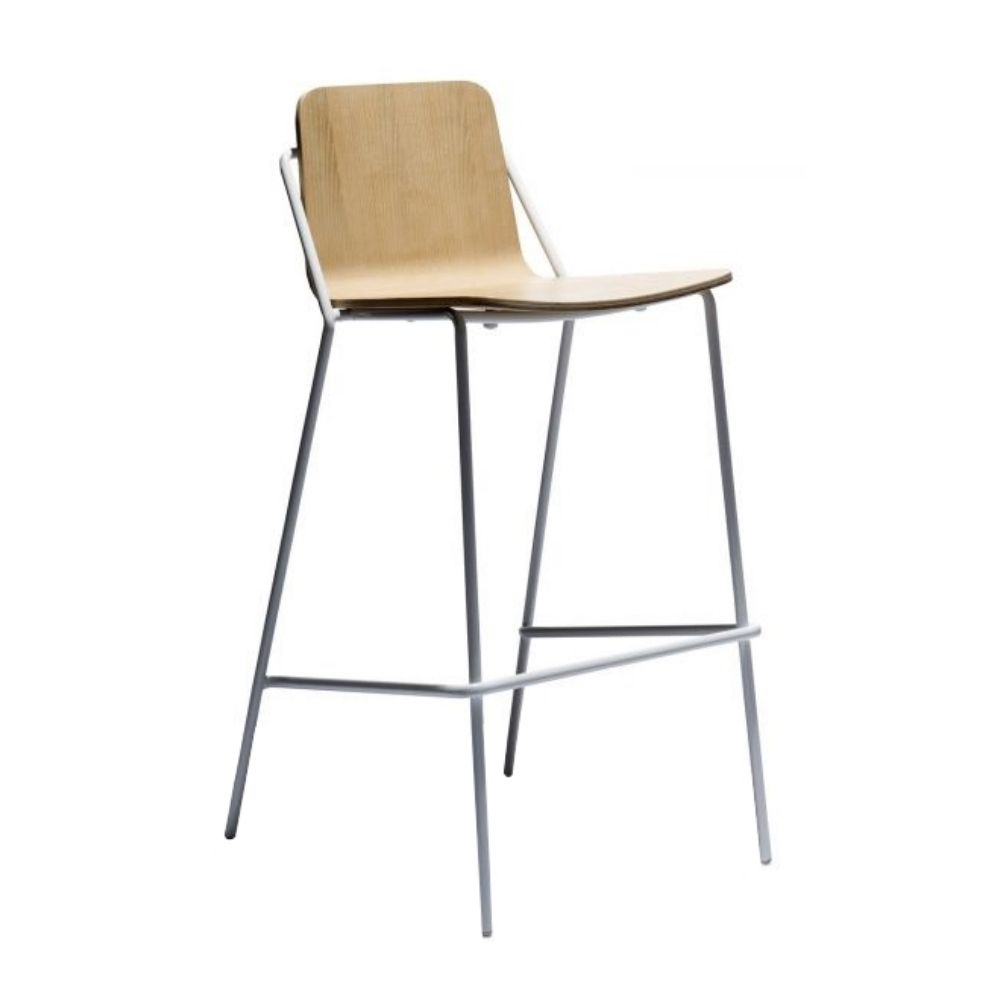 Sling Barstool Bar Stools Blue Chairs Living Room Stool
