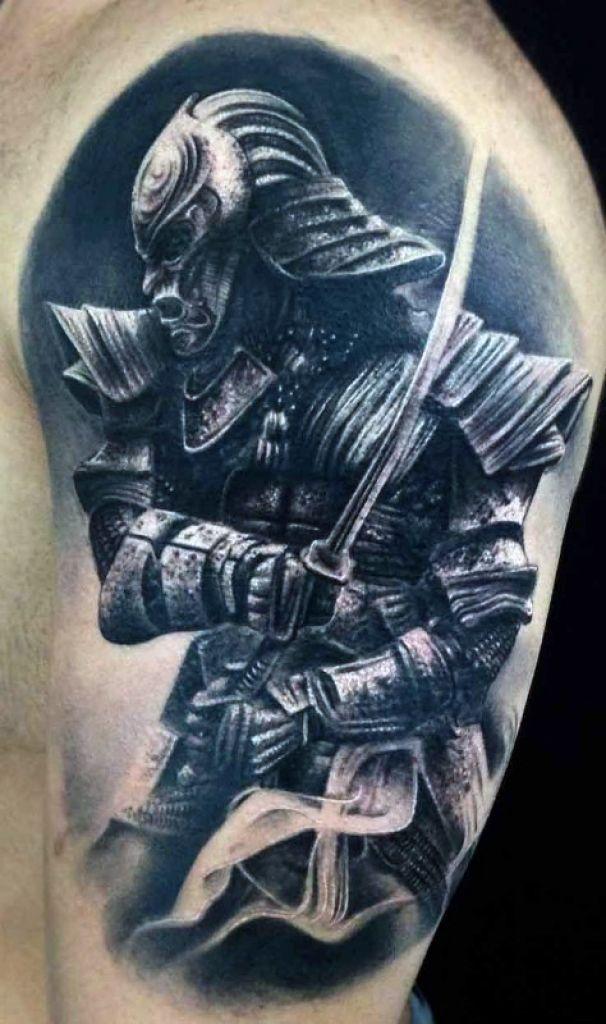 Variant japanese warrior tattoo have