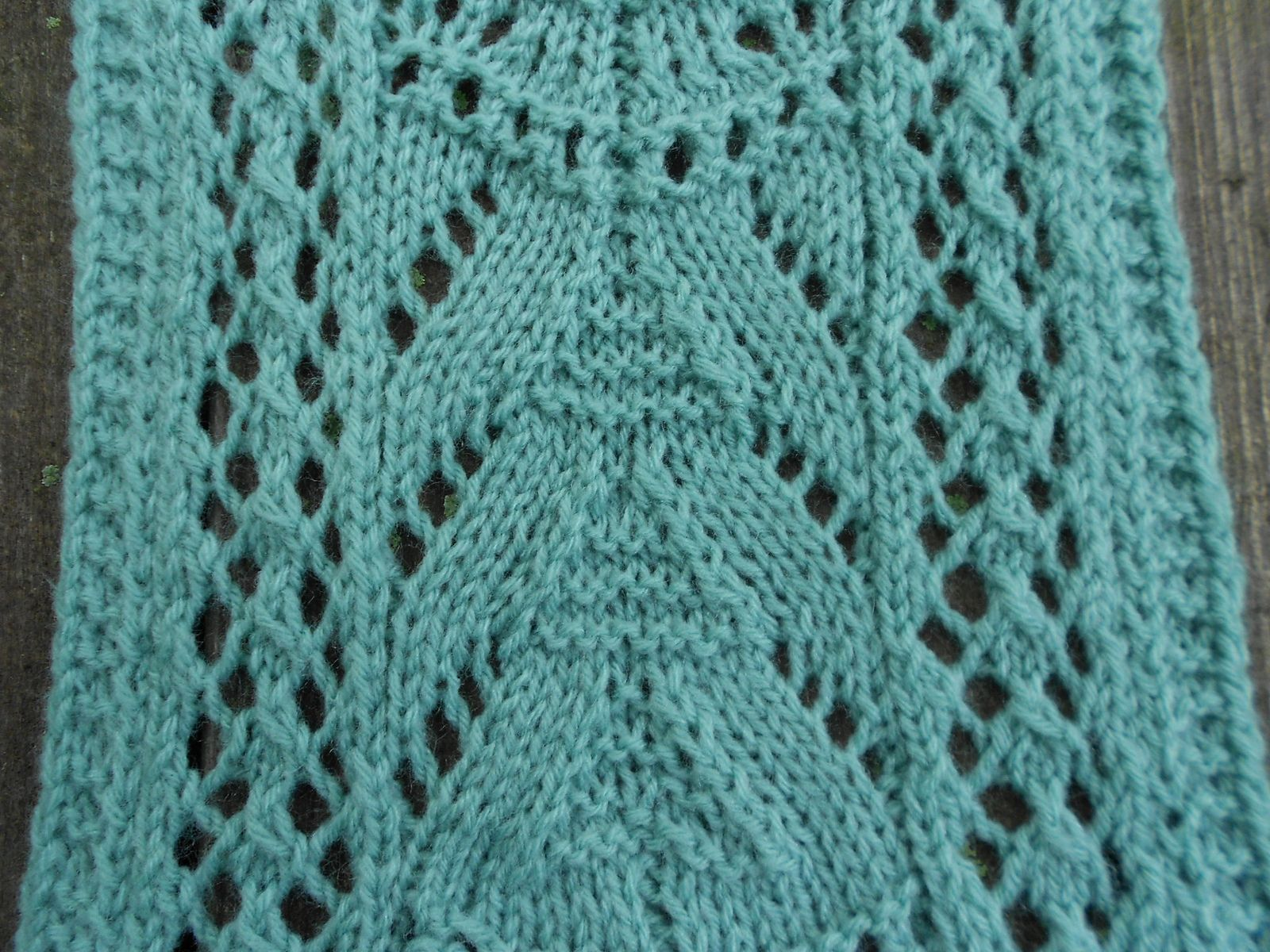 Theresa\'s Lacy Scarf pattern by Melody Hadley | Scarf patterns ...