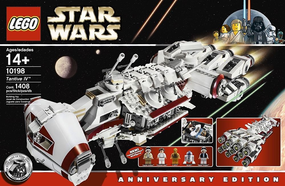 Lego Star Wars Tantive Iv 10198 100 Complete Lego Star Wars Sets Lego Star Wars Lego