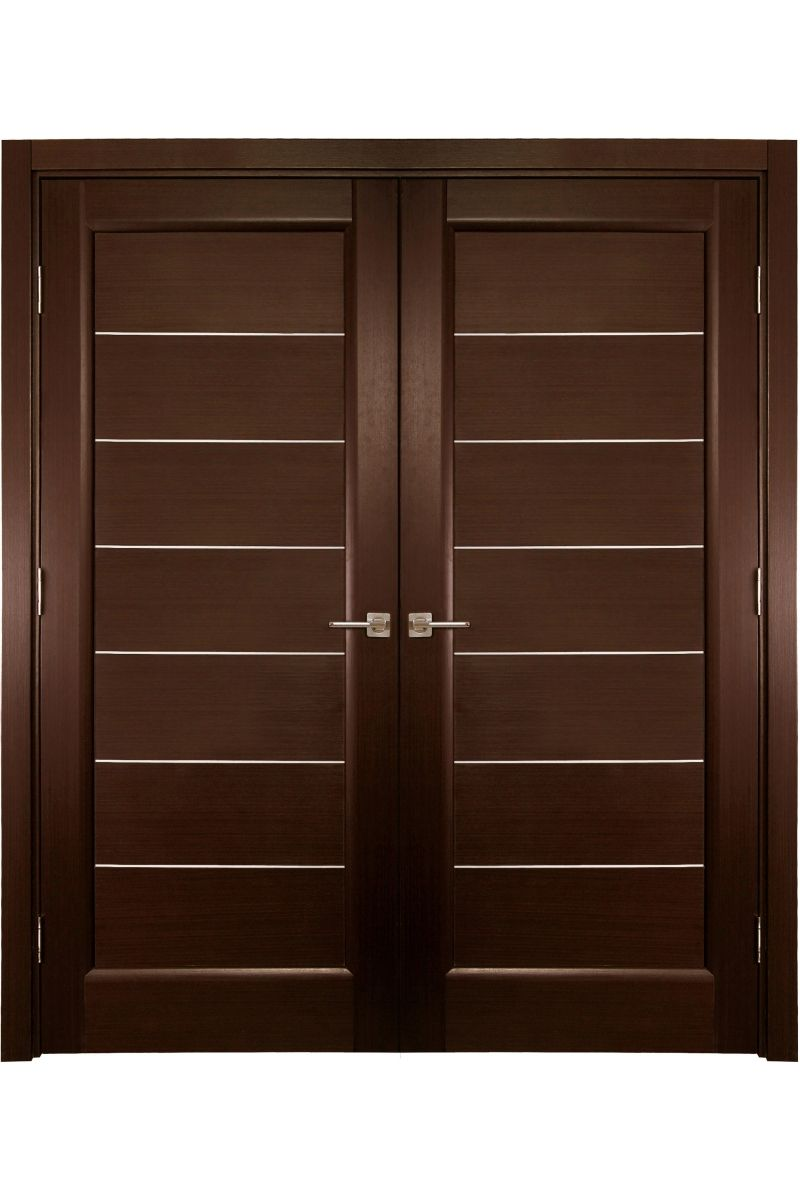 "Main Door Design Door Design Modern Wood: ""Lagoon"" - Contemporary Double Interior Door"